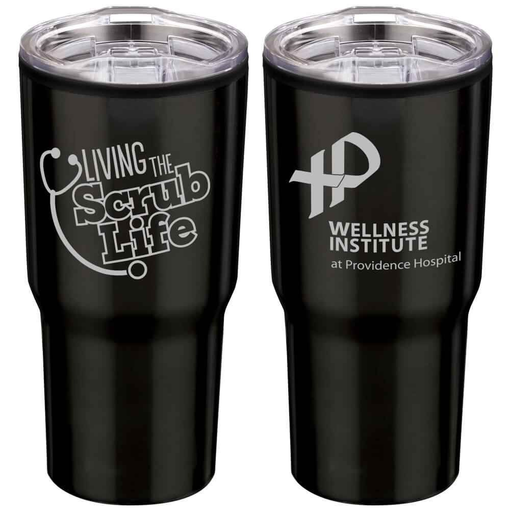 Living The Scrub Life Timber Insulated Stainless Steel Travel Tumbler 20 Oz Personalization Available Travel Tumblers Tumbler Scrub Life
