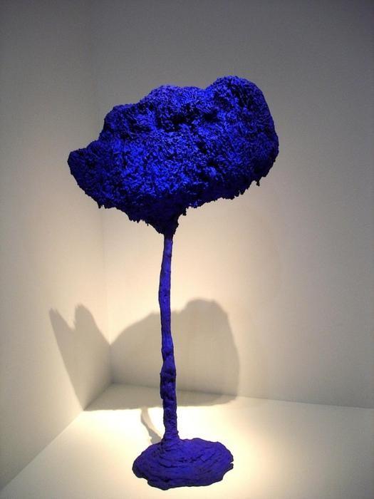 L'arbre, Grande Éponge Bleue - Yves Klein