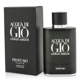 Acqua Di Gio Profumo Parfum Spray - 75ml-2.5oz. -A citrus aquatic woody fragrance for men-Inspired by the depth & intensity of the Mediterranean Sea-Fresh, spicy, breezy, watery, sophisticated & invigorating-Top notes of aquatic accord & bergamot-Heart notes of geranium, sage & rosemary-Base notes of patchouli & incense-Launched in 2015-Suitable for spring or summer wearProduct Line: Acqua Di Gio ProfumoProduct Size: 75ml/2.5oz