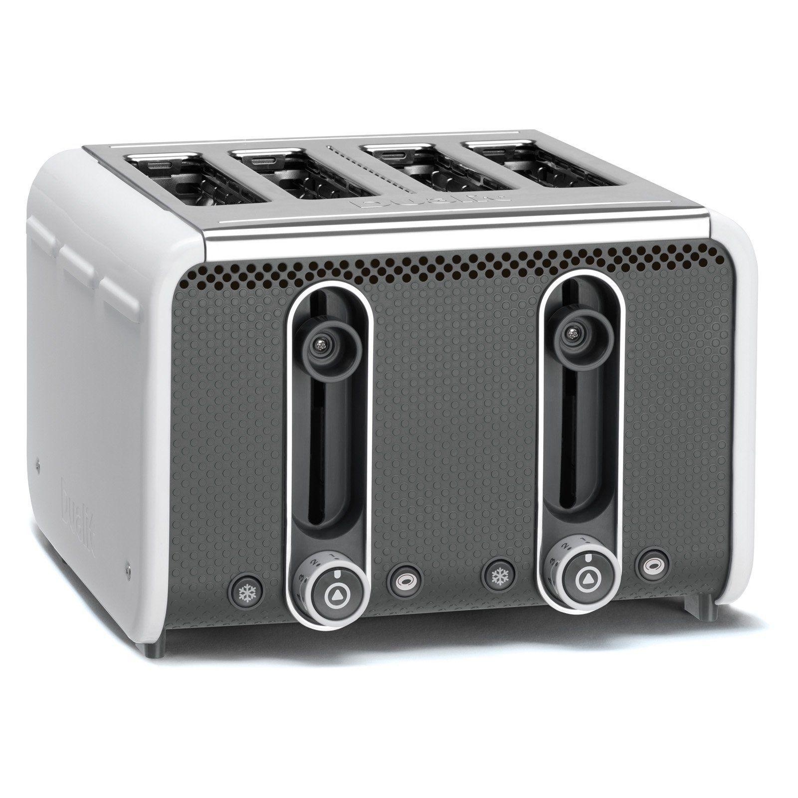 Dualit 46432 4 Slice Toaster White/gray 46432 White