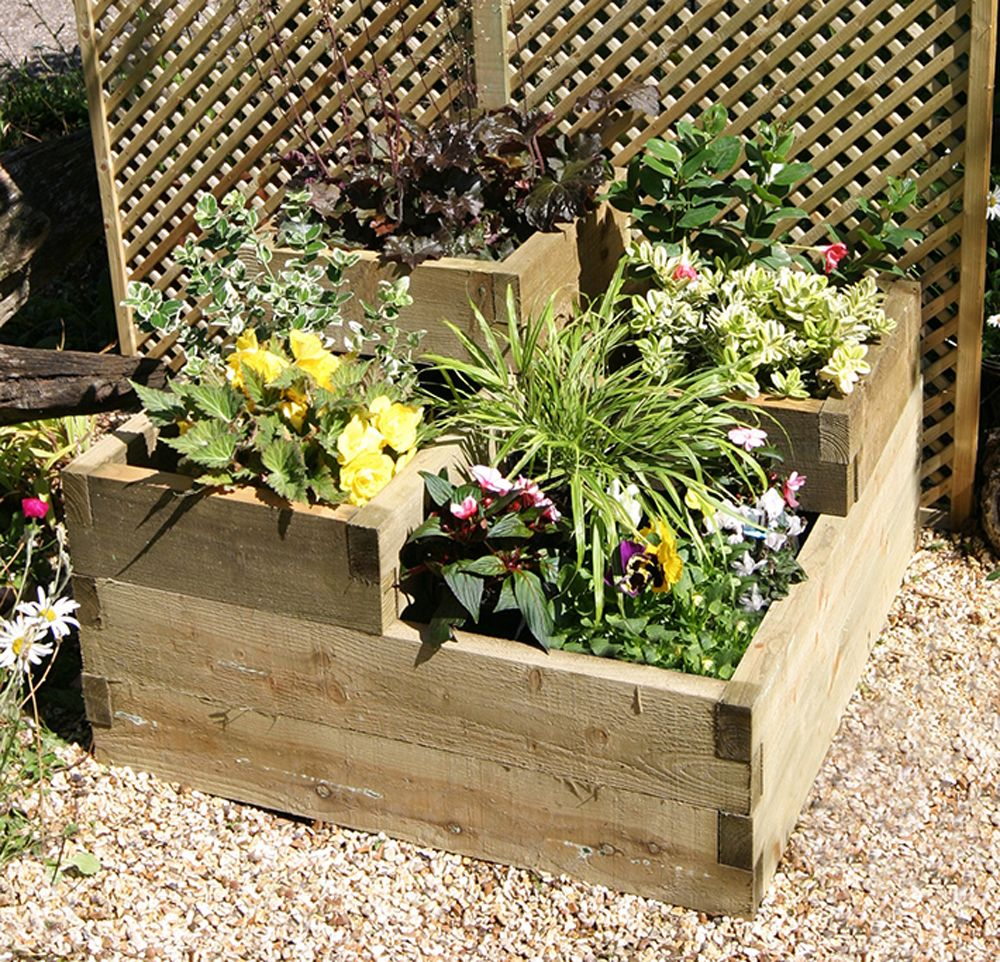 3 tiered raised bed | garden ideas | pinterest | tiered garden