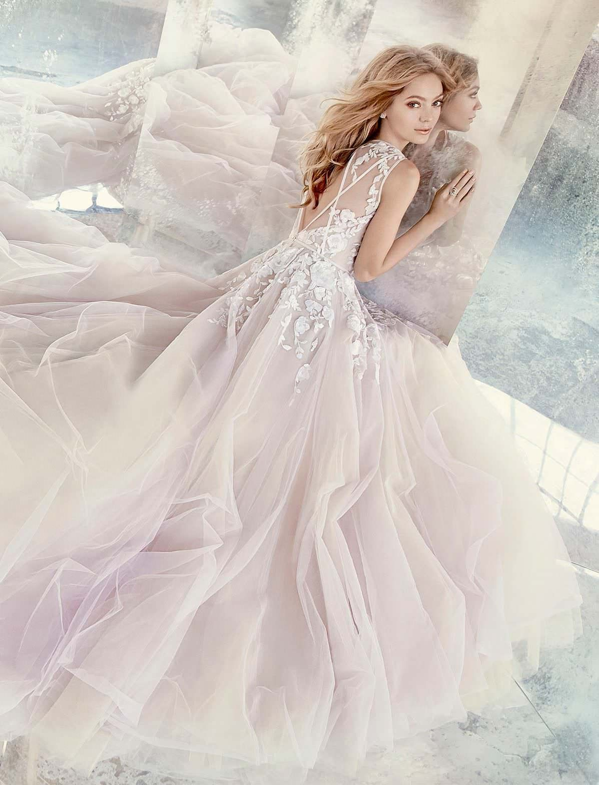 How much are hayley paige wedding dresses  Hayley Paige wedding gown  Leah by  Wedding Atelier  Wedding