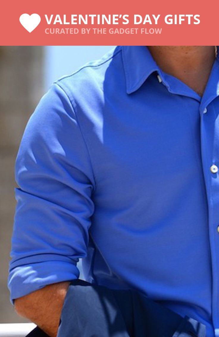 A Dress Shirt With Cooling Technology Cool Technology Cool