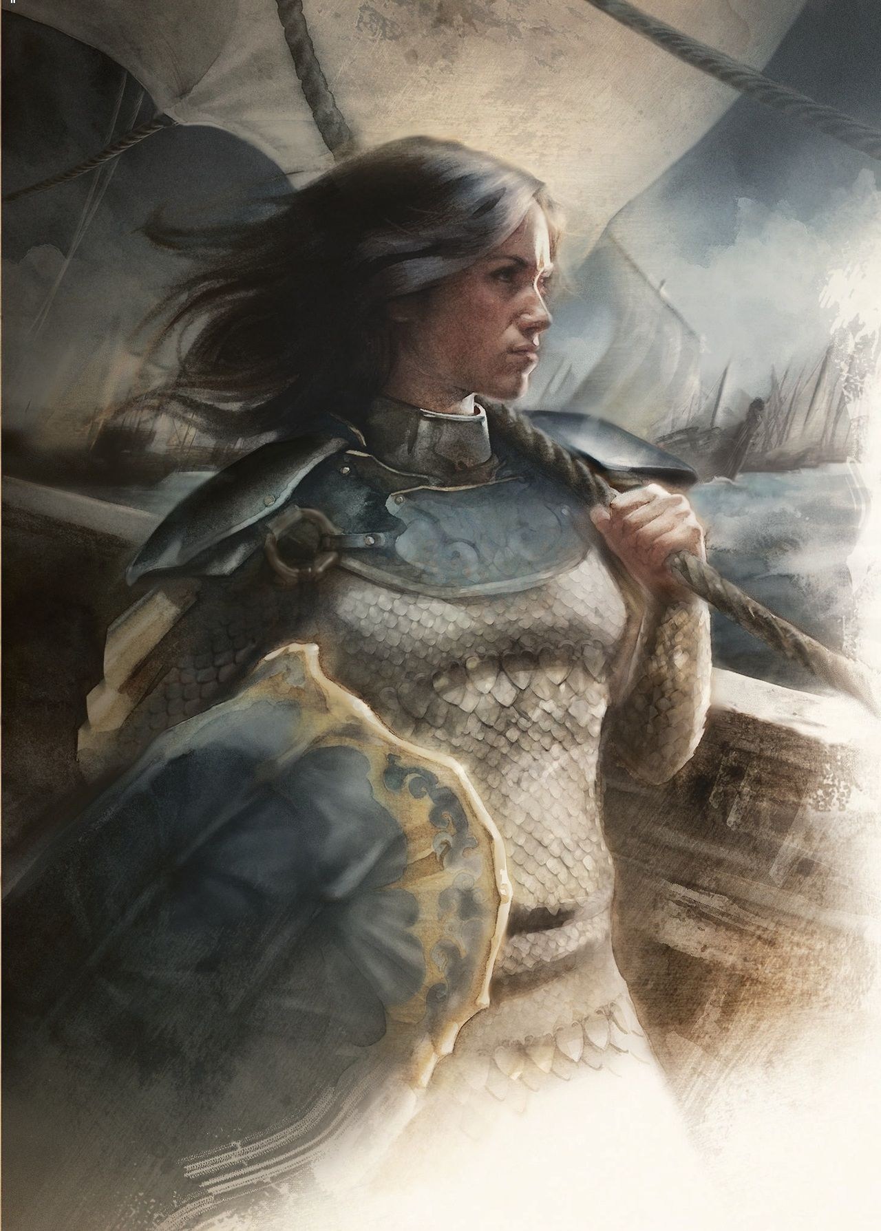 Princess Nymeria: A Magnificent ASOIAF Character Illustration by J.K. Drummond