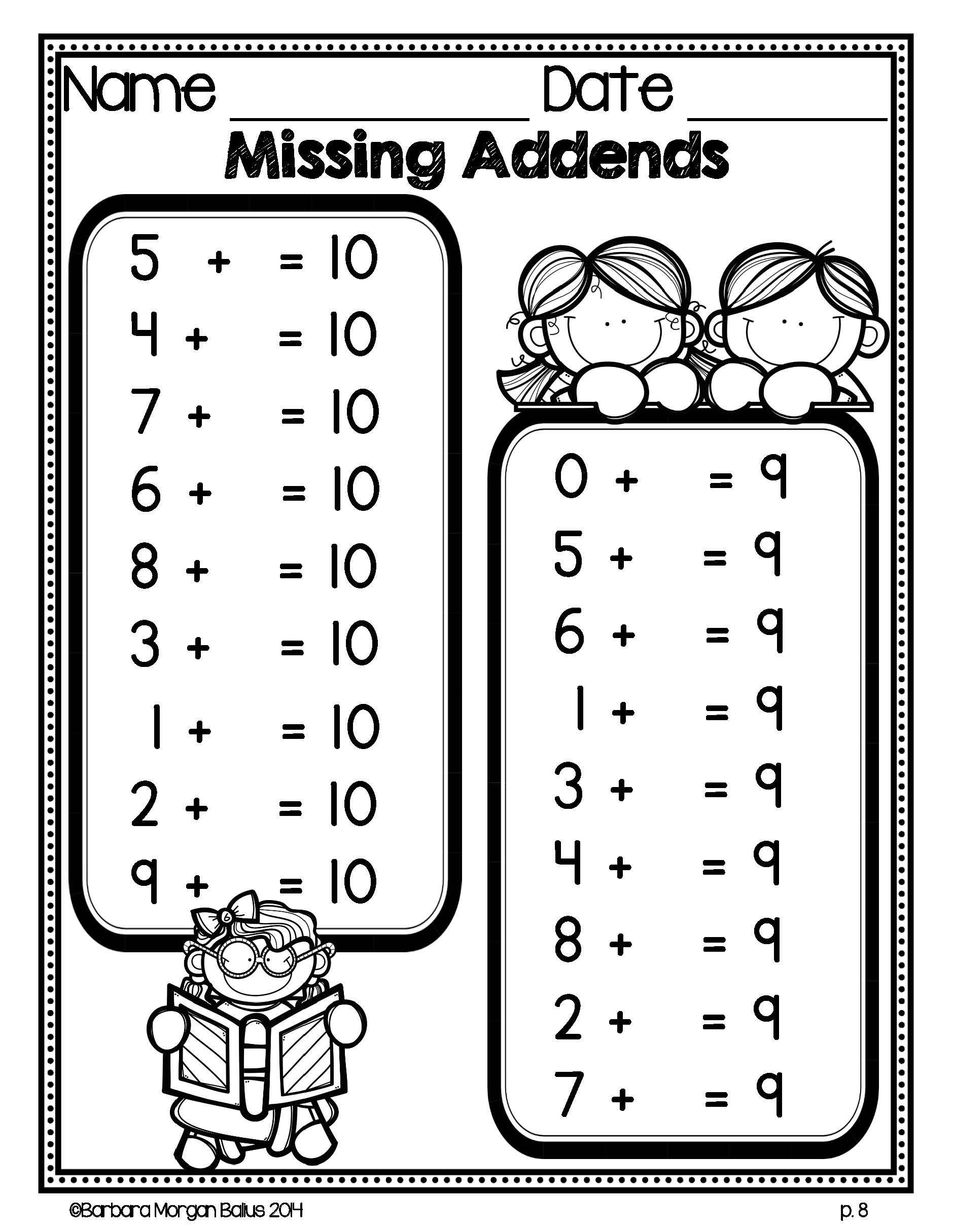 First Grade Math Mega Math Practice Freebie Preview 1 Oa