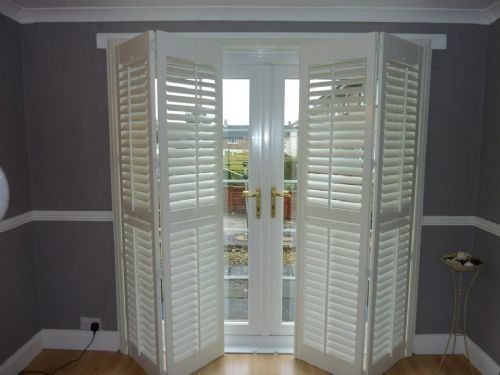 Gallery Of Chic Shutters For Patio Doors With Additional Remodeling Ideas