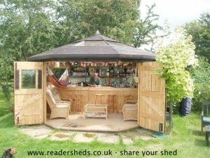 Storage Shed Man Cave Ideas : Wood shed man cave year's winner a decidedly sort of