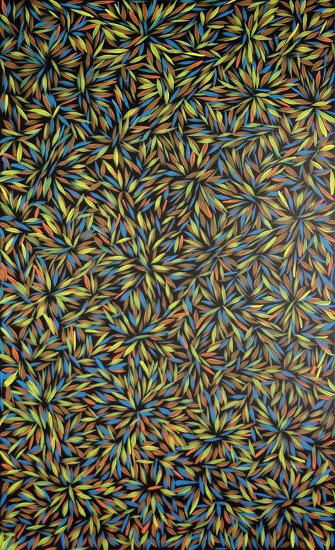Australian Aboriginal Art Painting By Margaret Scobie Purgarda