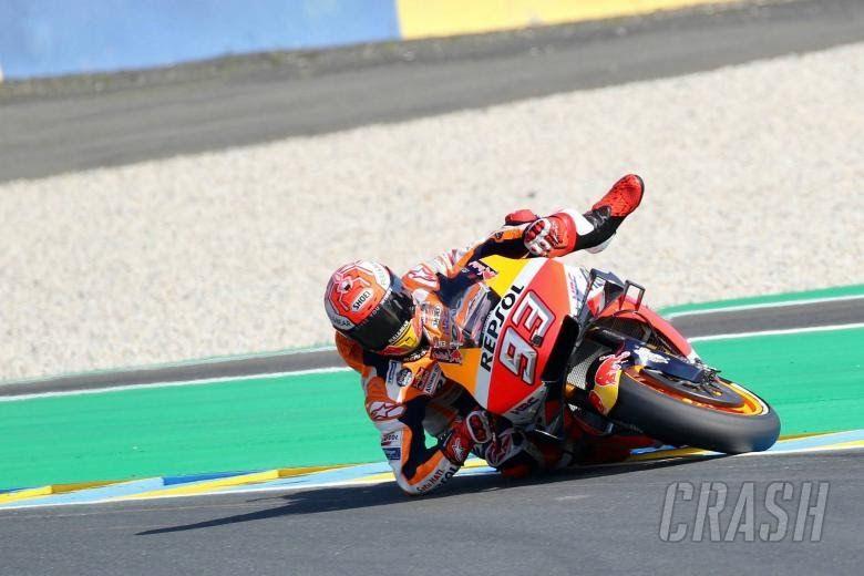 Pic Marquez Magic Save Different Strategies For In 2020 Motogp Grand Prix Motorcycles Yamaha Motogp