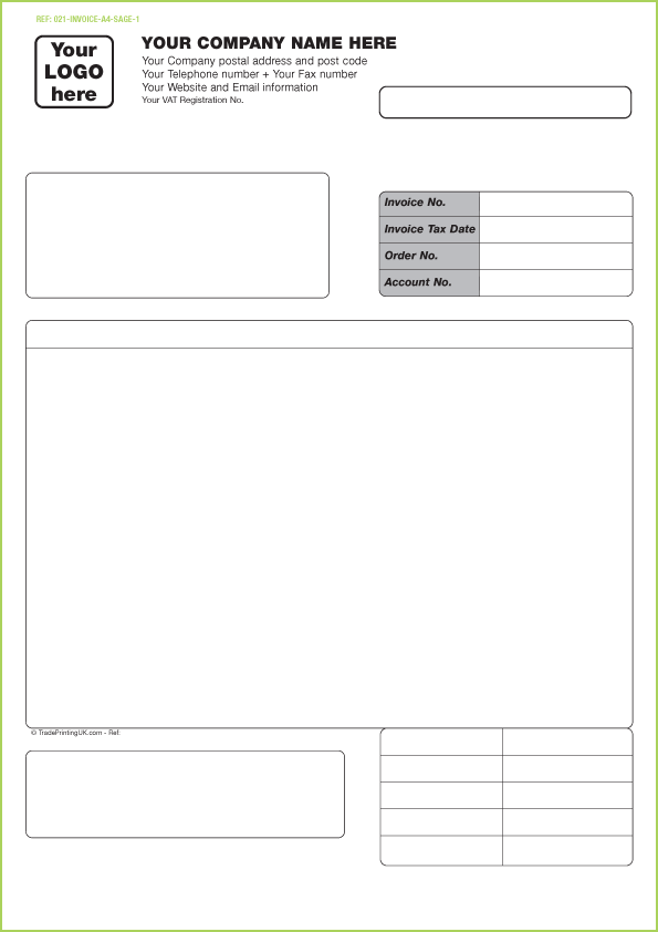 Sage Invoice  Template  Invoice    Sage Template And