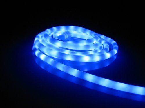 50Ft Rope Lights; Lavender Blue LED Rope Light Kit; 10\