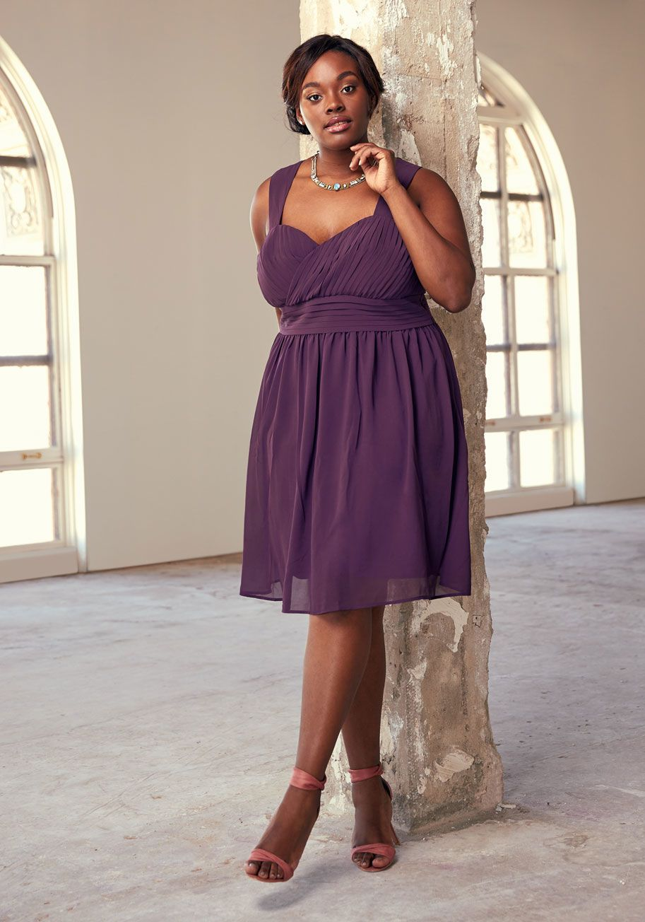 Blissful Vision A-Line Dress in Onyx   Grand staircase, ModCloth and ...