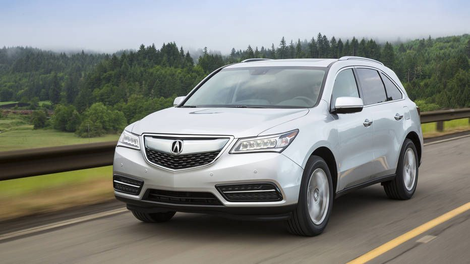 2016 Acura MDX drive review Leader & follower (With