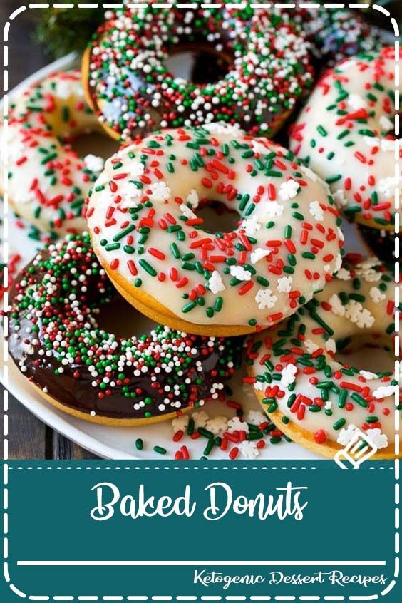 Baked Donuts Baked Donuts Recipe | Cake Donuts | Chocolate Donuts | Sprinkle Donuts