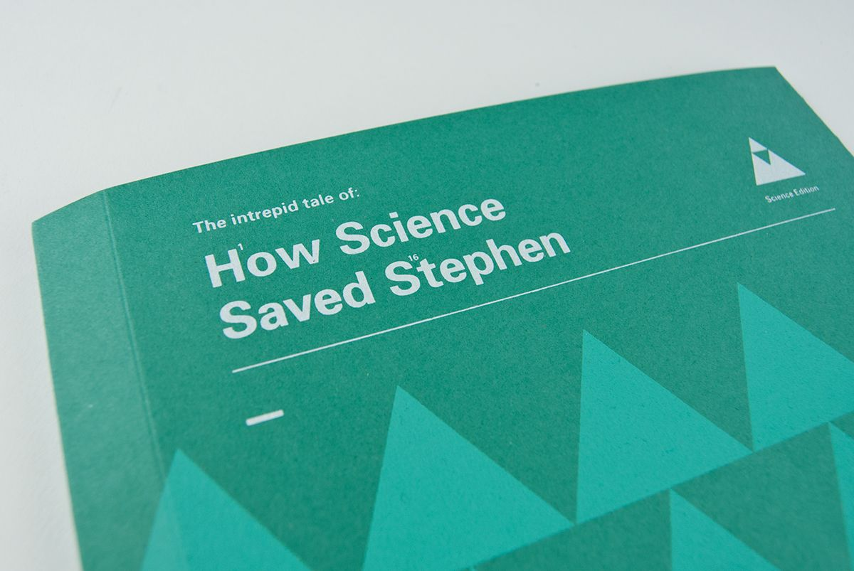 Science Saved Stephen on Behance
