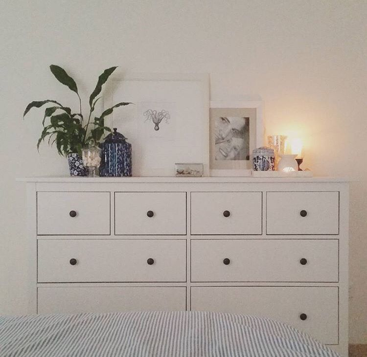 Hemnes Chest Of Drawers Cozy Apartment Decor Apartment Decor Bedroom Drawers