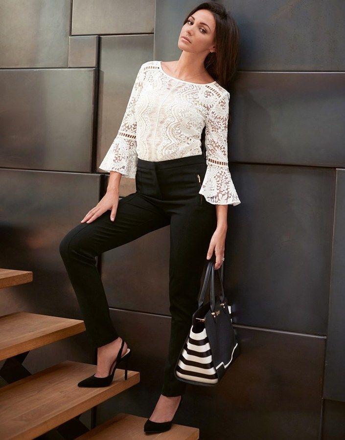 72cf361063ba Lipsy Love Michelle Keegan Cigarette Trousers