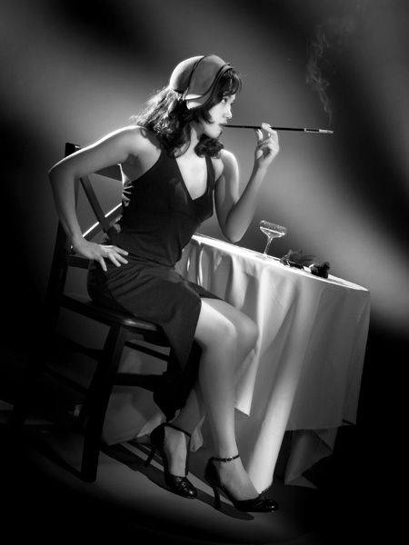 sexy cigarette holder femme - Google Search
