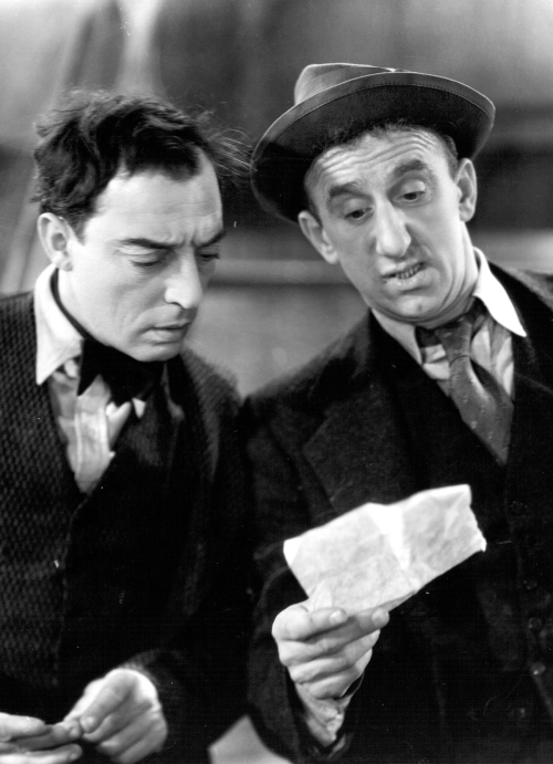 warnerarchive:  Buster Keaton and Jimmy Durante in What! No Beer? (1933) available now in HD on Warner Archive Instant