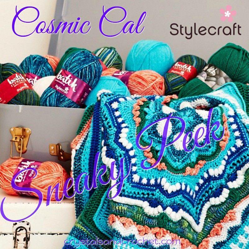 Cosmic Cal Sneaky Peek | CAL | Pinterest | Häkeln, Decken und Tücher