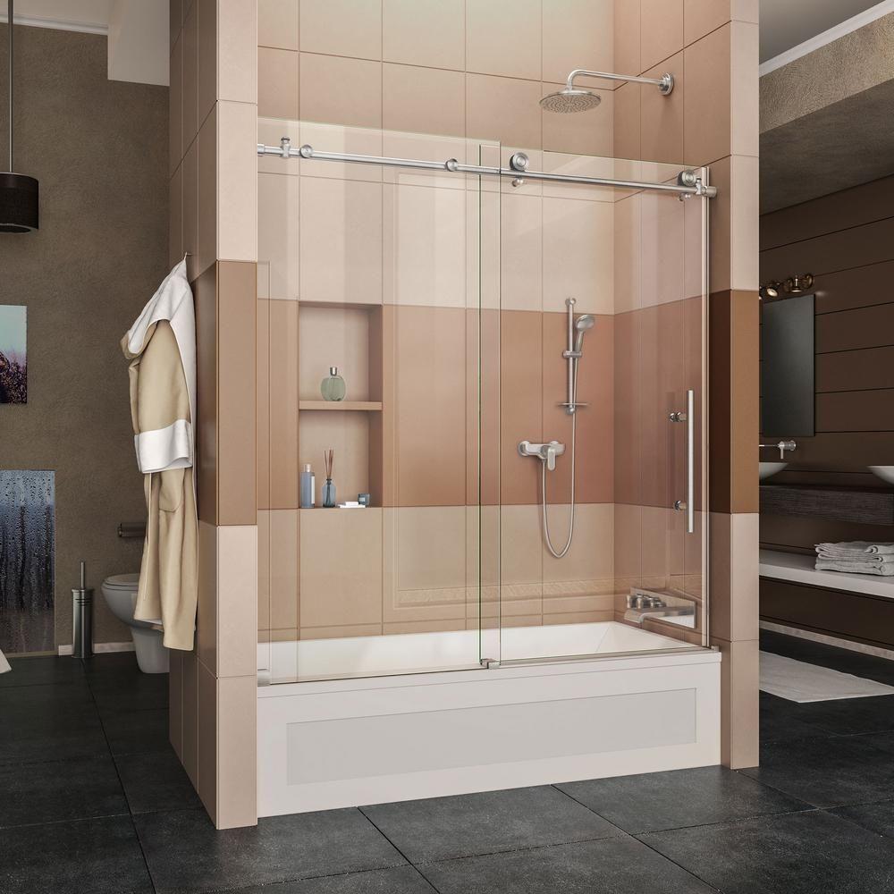 Amazing Bathtub Sliding Glass Doors