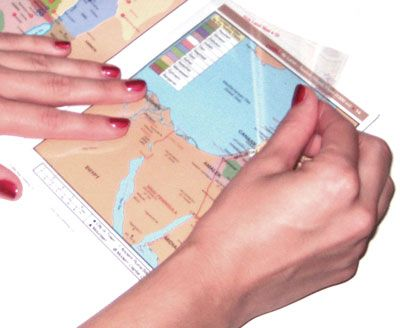 FREE Middle East Then and Now Map 1Day Bible Map Blowout