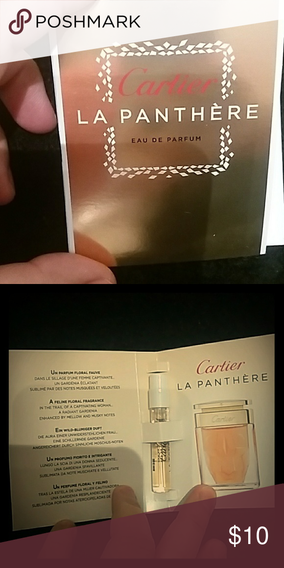 Cartier La Panthere Eau De Parfum Brand Newsample Size 05 Fl