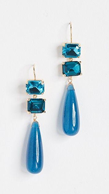 Theia Jewelry Ariana Double Tier Drop Earrings SXDVuDu4