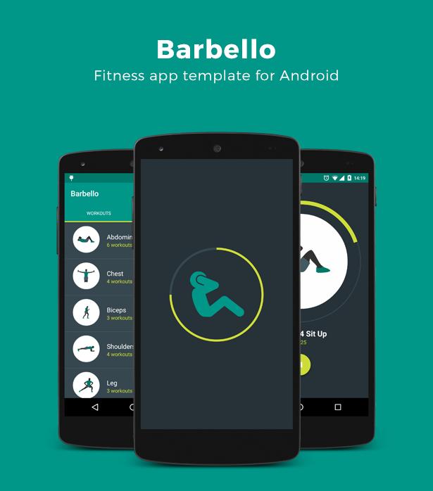 barbello fitness app for android pongodev app pinterest