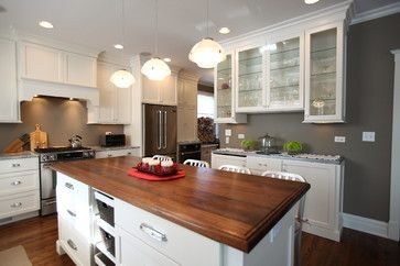 Four Square Style Kitchen Remodel