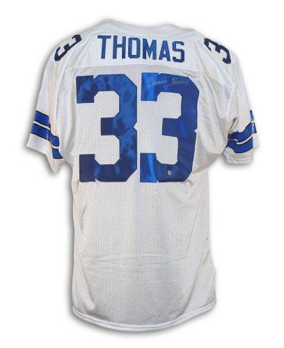 fe14279f773 Duane Thomas Autographed Jersey - Dallas Cowboys White Throwback -  Autographed NFL Jerseys by Athletic Promotional Events. $314.99.  Autographed.