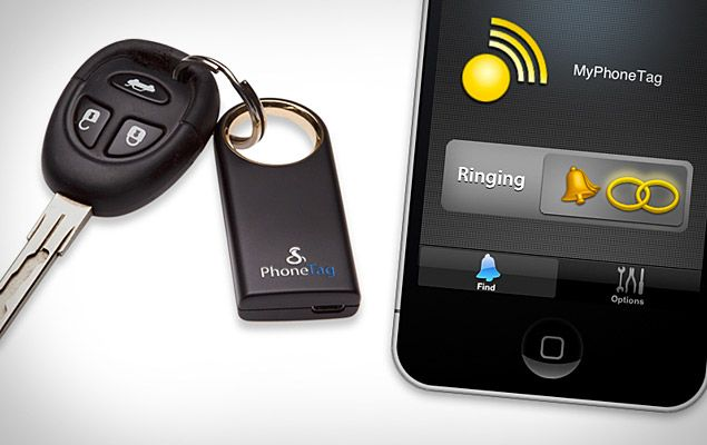 Cobra Phonetag 60 Use Your Smart Phone To Keep Track Of Valuable