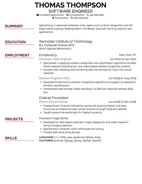 What Is The Best Font For Resumes Best Resume Font And Size  Copy  Resume Font Size  Pinterest .