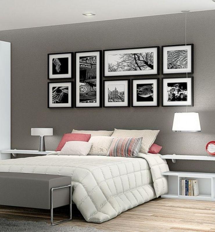 Vous Ne Savez Pas Comment Afficher Vos Magnifiques Photos Au Mur - Canapé convertible scandinave pour noël deco mur de chambre
