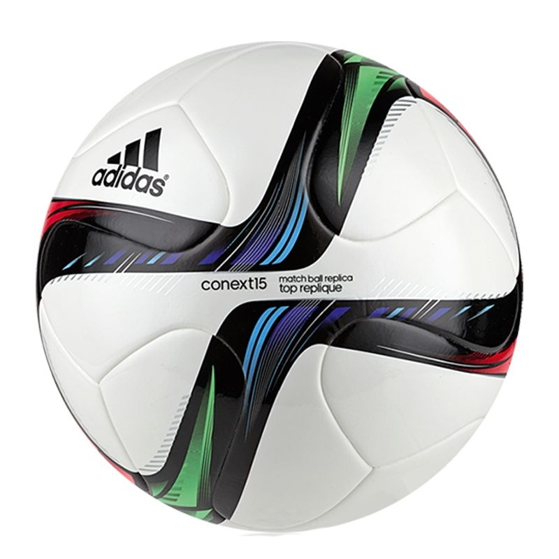 b6747a073 Adidas Conext 15 Top Replique Soccer Ball (White Night Flash Flash Green  Black)