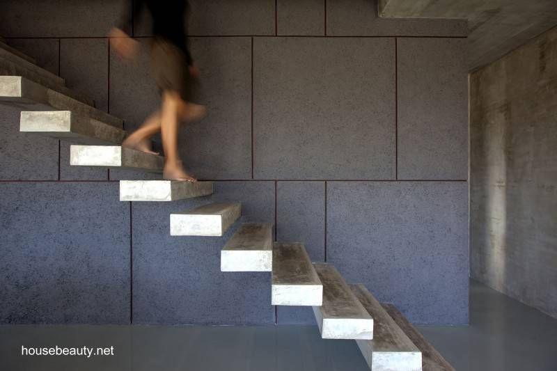 Escalera minimalista de interior Richard Pinterest Escaleras