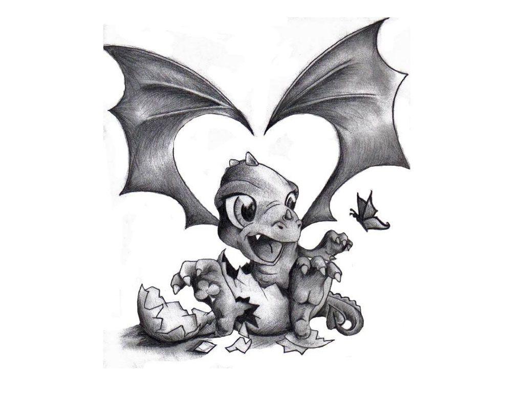 Baby Dragon Tattoo Cute Baby Dragon Tattoos Cute Dragon Tattoo Dragon Pictures