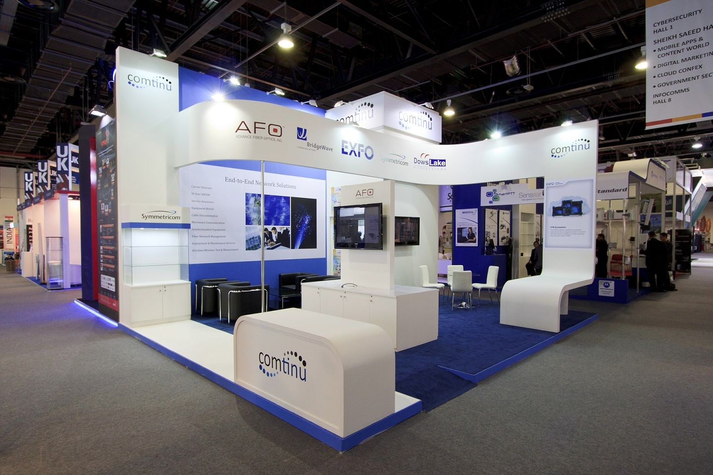 Exhibition Display Stands : Exhibition stands and joinery works display stands www.hox.ae