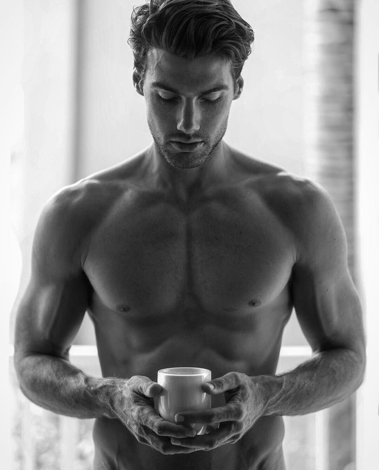 ebony-lesbien-nude-man-and-coffee-ebony