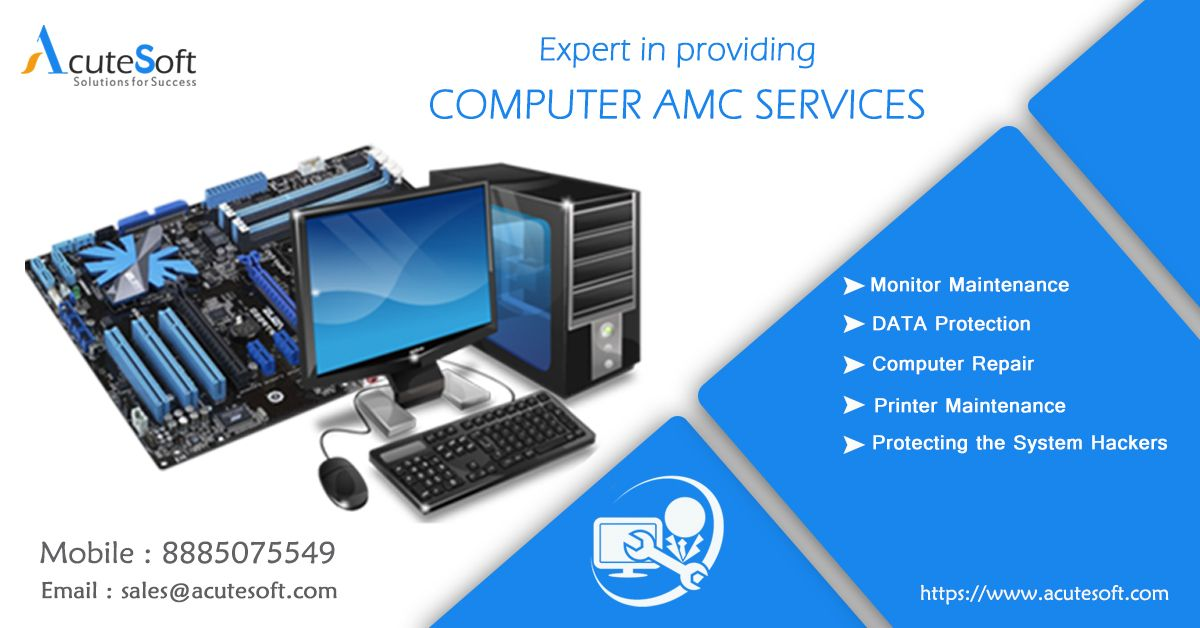 We Can Take Up Annual Maintenance Contract Service For All Your Computers Laptops Networks And Other IT Infrastructure ComputerAMC AMCServices AMC