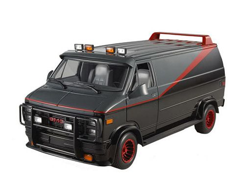 Gmc Vandura Plastic Model Car From The A Team A Team Van Car