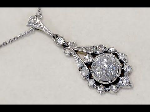 Antique 200 ct diamond and 14 ct yellow gold pendant httpwww ct diamond and 14 ct yellow gold pendant antique circa 1900 aloadofball Images
