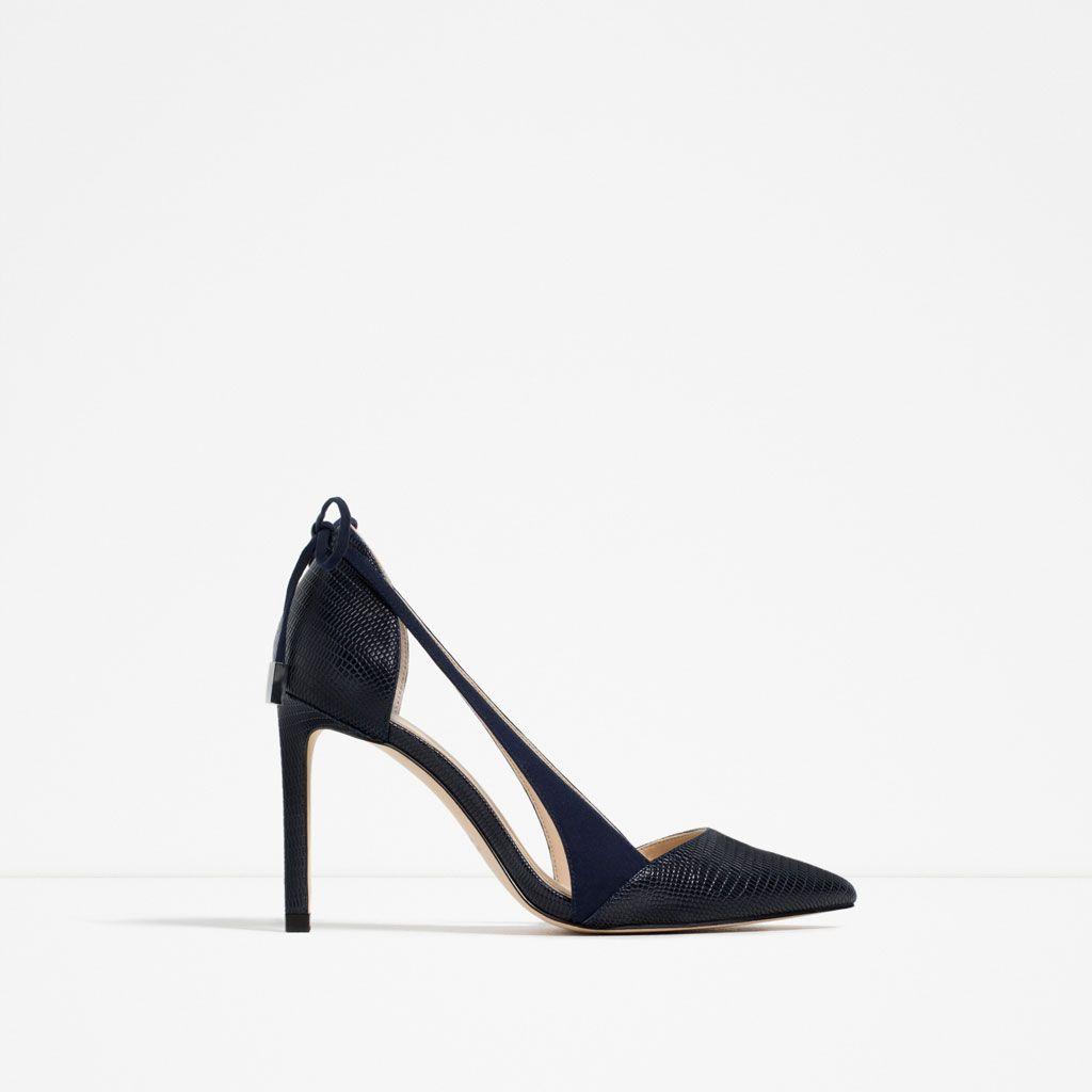 Descuentos en todo el calzado de moda de esta temporada. Encuentra zapatos  de mujer al mejor precio en ZARA online. fa6e855ad642