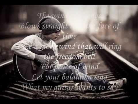 Wind Of Change Scorpions With Lyrics Music Muziek