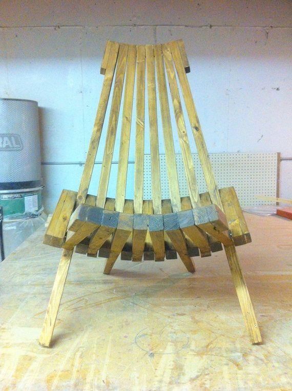 Wooden Chair Kentucky Stick Chair Folding Project