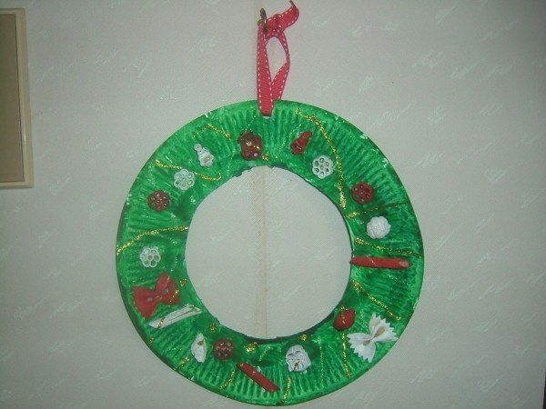 Corona de adviento para ni os manualidades buscar con - Como hacer manualidades de navidad para ninos ...