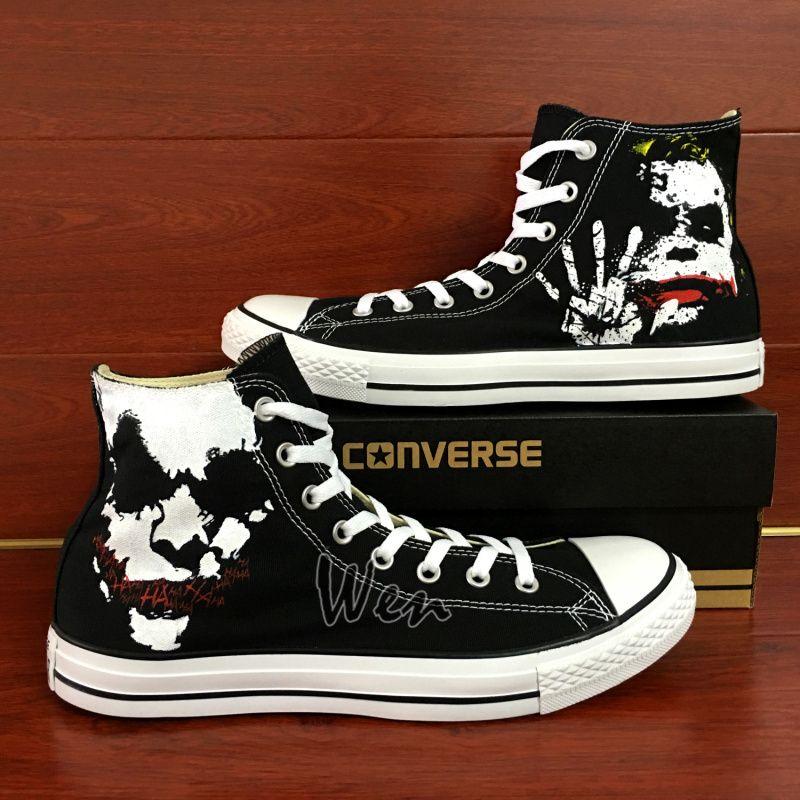 eb5dc2cfe7767f Sneakers Women Men s Converse All Star Joker Design Custom Hand ...