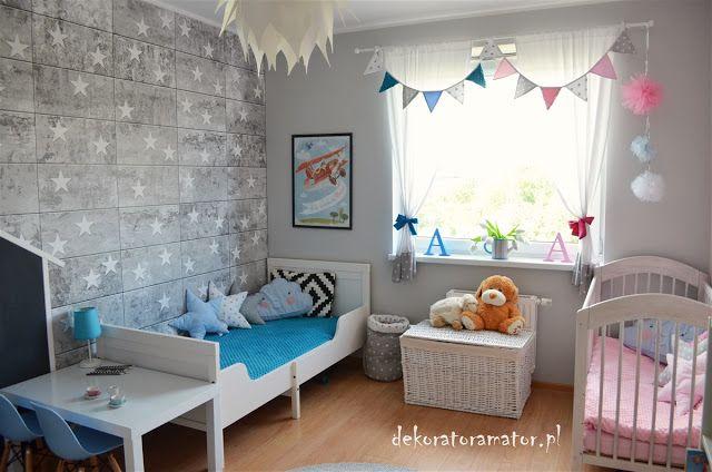 Pokój Rodzeństwa Kidsroom Pokój Dziecięcy Pokój Dziecka Ikea