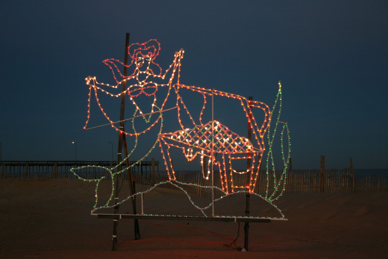 Mermaid Holiday Lights - Ocean City, MD - Winterfest of Lights ...