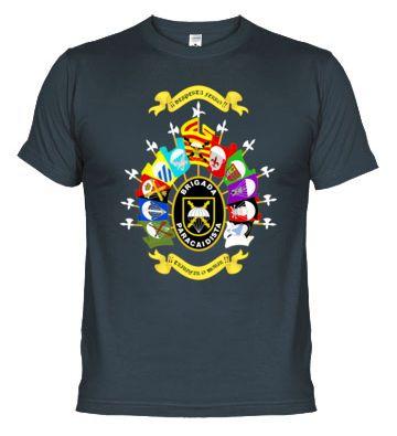 Camiseta BRIPAC. Brigada Paracaidista.
